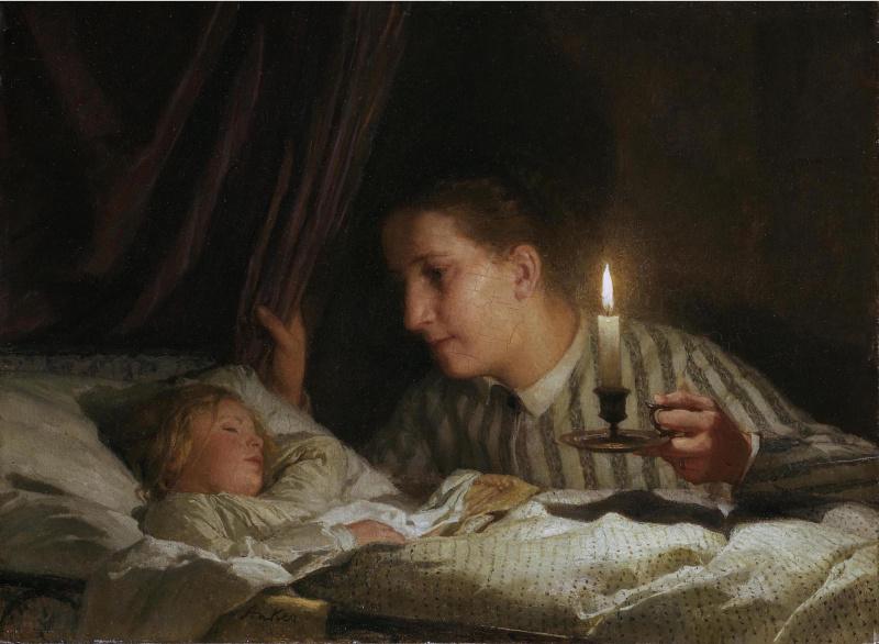 Память, ночь матери картинки