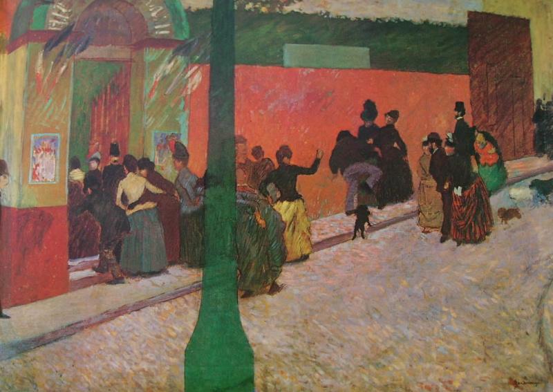 Federico Zandomenegi. Moulin de La Galette
