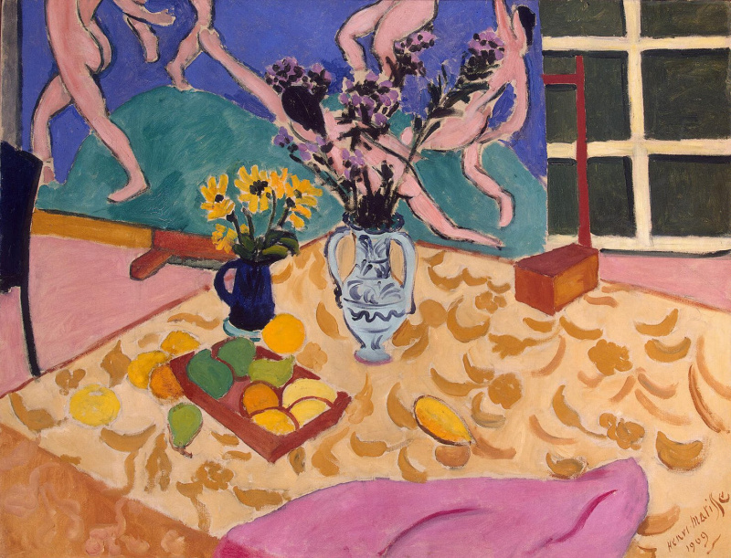 "Henri Matisse. Still-life with a picture ""Dance"""