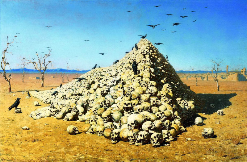 Vasily Vasilyevich Vereshchagin. The apotheosis of war