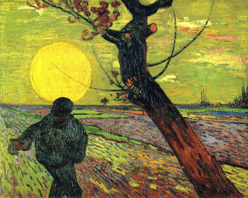 Винсент Ван Гог. Сеятель (вариант)