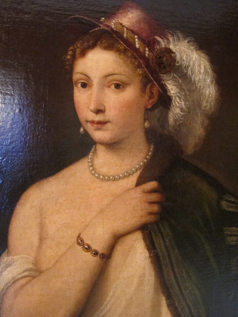 Тициан портрет молодой женжины