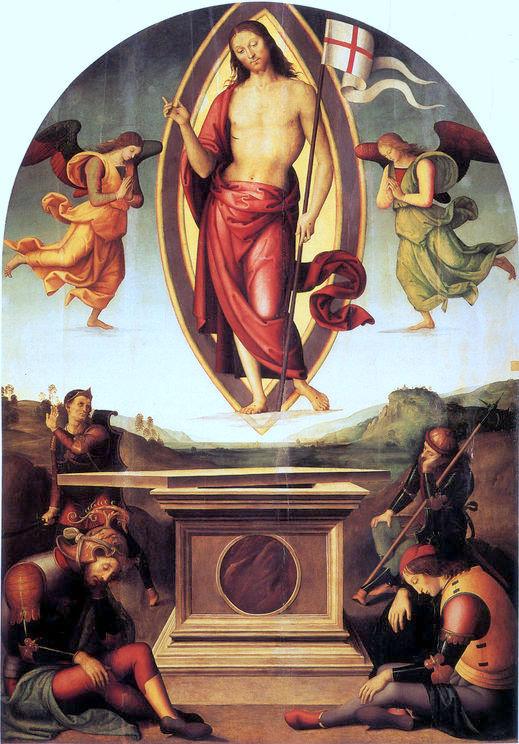 Пьетро Перуджино. Воскресение Сан-Франческо-аль-Прато