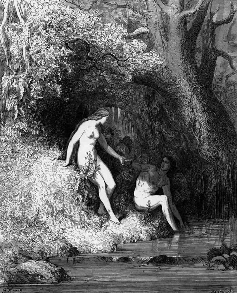 an analysis of the situations that blocked adams free will in the paradise lost by john milton