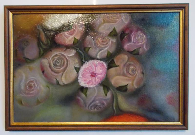 Irina Pavlovna Alekseeva. Night flowers