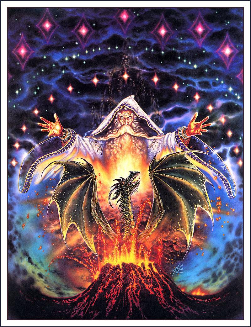 Открытка магия, голосовые открытки