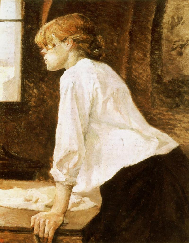 Henri de Toulouse-Lautrec. The Laundress
