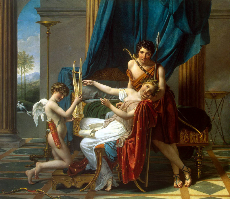 a biography of jaques louis david the french neoclassical painter Jacques-louis david was a french painter in the neoclassical style, considered to be the preeminent painter of the era.