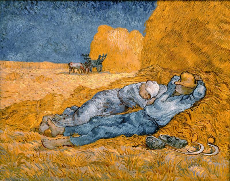 Винсент Ван Гог. Полуденный отдых