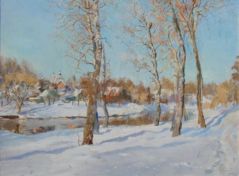 Валерий Геннадьевич Иванов. Река Руза
