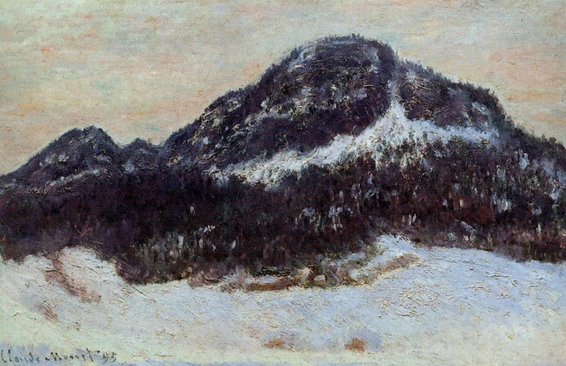 Claude Monet. Mount Kolsaas