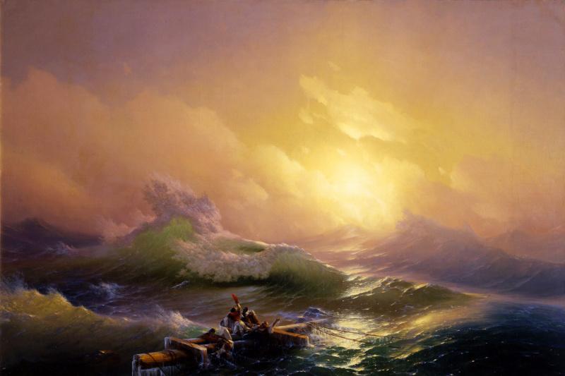 Ivan Constantinovich Aivazovski. The ninth wave