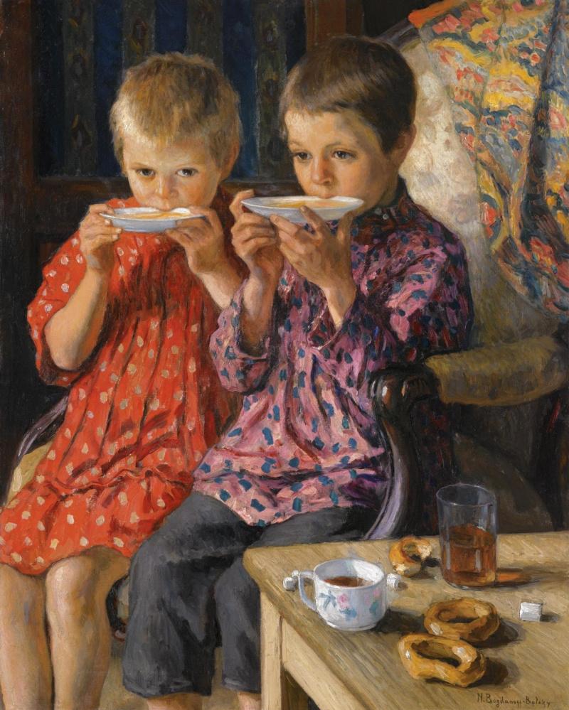 Картинки о чаепитии для детей