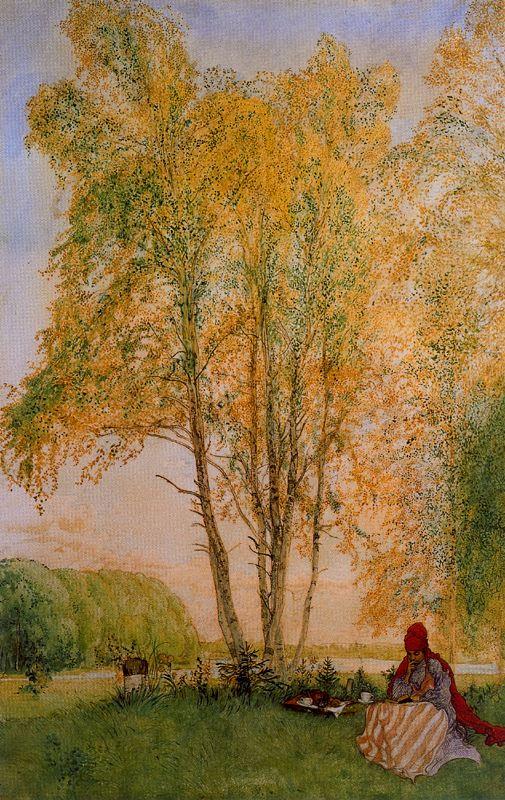 Карл Ларссон. Осень
