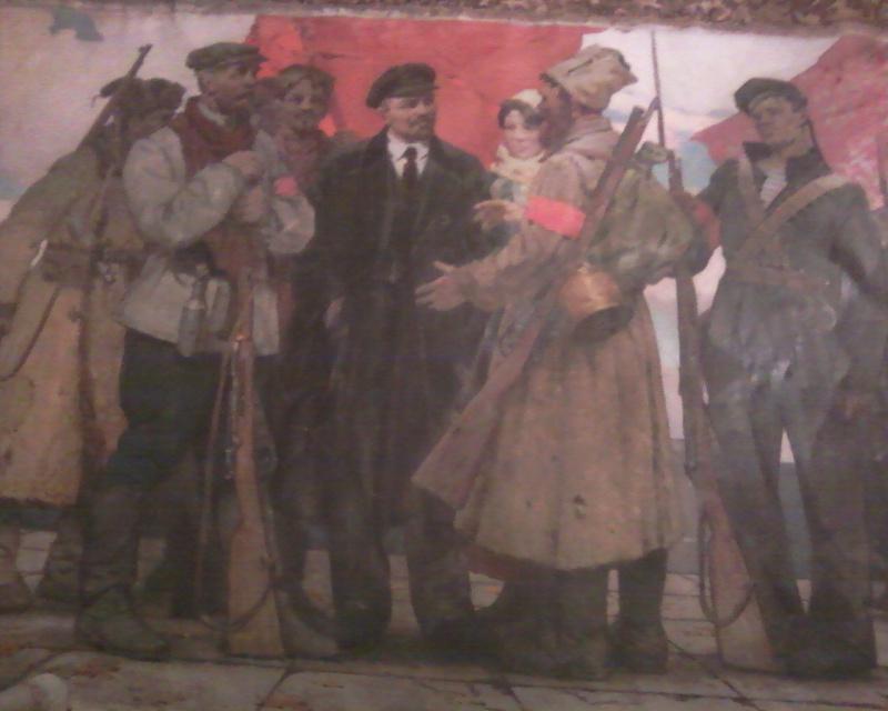Адольф Макарович Константинопольский. Октябрь.1917год