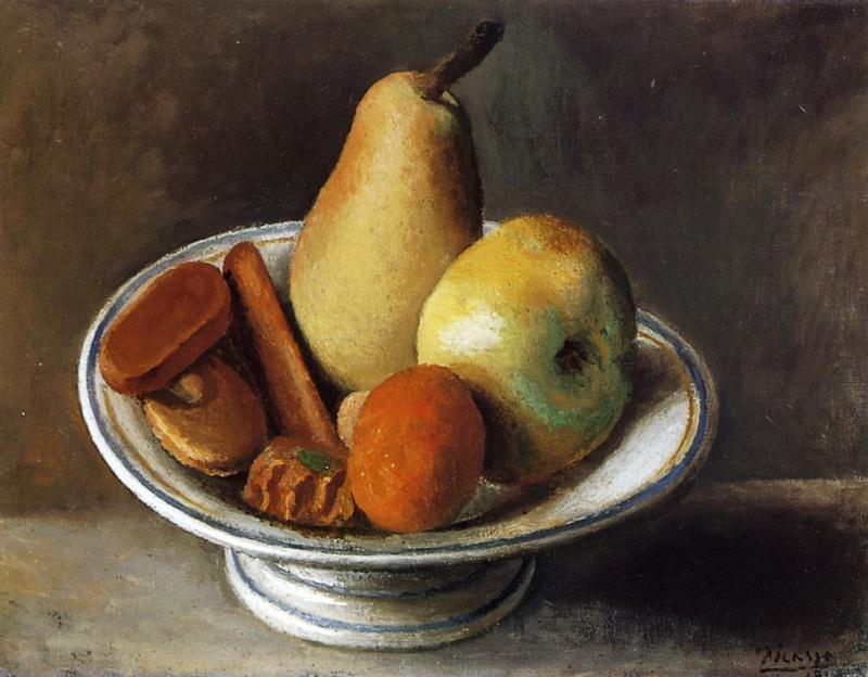 Pablo Picasso. Fruit bowl
