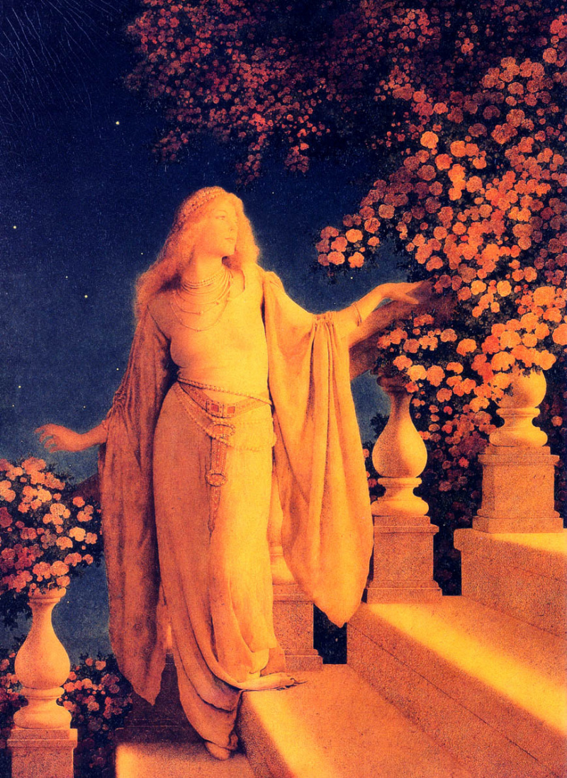 an analysis of the life and career of maxfield parrish