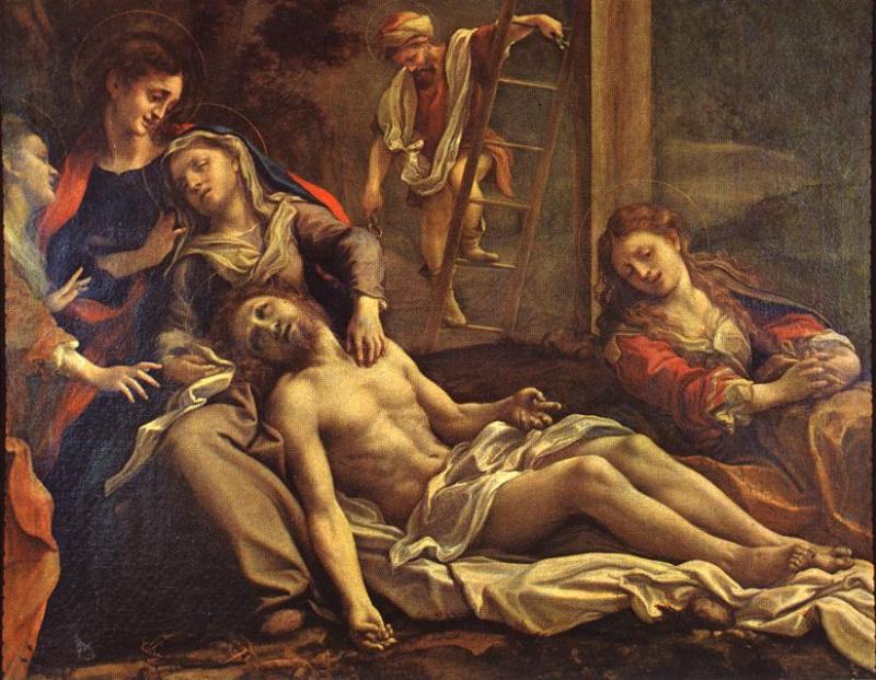 Антонио Корреджо. Снятие с креста