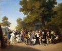 Politicians in the Tuileries Garden