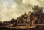 Ян ван Гойен. Крестьянские избы.