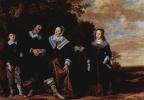Франс Халс. Семейный портрет
