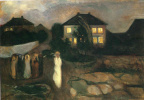 Edvard Munch. Storm
