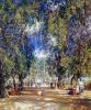 Аллея парка