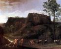 Пейзаж с Гераклом и Ахелоем