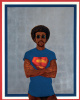 Icon for my man Superman (Superman never saved any black people - Bobby Powers)