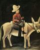 The boy on the donkey