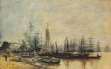 Эжен Буден. В порту Бордо