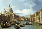Джованни Антонио Каналь (Каналетто). Большой канал и церковь Салюте