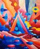 "The painting ""Cognition"" Irina SHUMSKAYA"