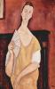 Портрет Луни Чеховской с веером