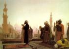 Жан-Леон Жером. Молитва на кровлях