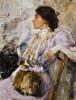 Дама в лиловом