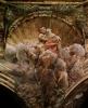 Роспись купола в кафедральном соборе в Парме: Благовещение. Деталь: Иоанн Креститель