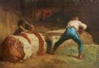 Jean-François Millet. Woodcutters