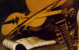 Michelangelo Merisi de Caravaggio. Amour-Winner. Fragment