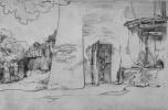 Карл Филипп Фор. Крестьянский дом на юге
