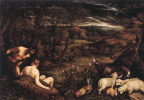 Якопо да Понте Бассано. Райский сад
