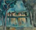 Городок на берегу Сены