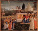 Salvation of saints Cosmas and Damian. The altar of the monastery of San Marco. Limit 2
