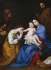The mystical betrothal of St. Catherine of Alexandria