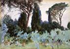 Джон Сингер Сарджент. Пейзаж близ Флоренции