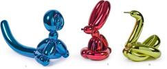 Джефф Кунс. Balls: Monkey, Rabbit, Swan