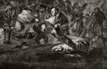 """Франсиско Гойя. Серия """"Диспаратес"""", лист 18: Привидения"""