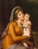 Портрет графини Анны Сергеевны Строгановой с сыном