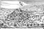 Маттеус Мериан Старший. Баден-Баден, вид с запада