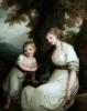 Баронесса фон Крюденер с сыном Полем